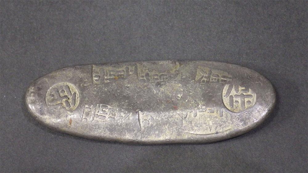 天保丁銀の画像